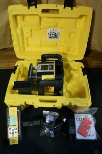 Leica Rugby CLI CLX 900 Dual Grade Laser Level    NEVER USED