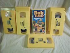Tested Lot 4 Bob the Builder VHS The Big Game/Tool Power/To Rescue/Can We Fix It