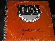 RCA SPECIAL RADIO SERIES PROMO Vol. 9 Doug and the Slugs LP 80s ROCK