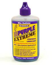 Bike Medicine Purple Extreme Bike Lube Chain Oil Drip Bottle 4oz Ounce