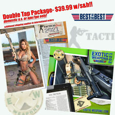 Tactical Girls and Exotic Weapons 2021 Calendar Package $39.99 with S&H!