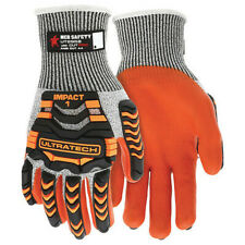 Mcr Safety Ut2952xl Cut Resistant Impact Coated Gloves A4 Cut Level Nitrile