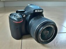 Nikon D5200 DSLR camera with lens + battery without charger ex display 24MP