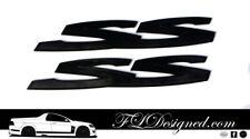 Holden/ HSV Ve/ Vf MATTE Black SS Badges