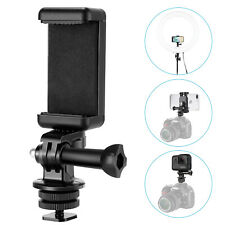 Neewer Hot Shoe Mount Adapter Kit for iPhone XS MAX/XS/XR/X/8 GoPro Hero 6 5