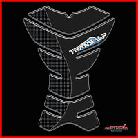 paraserbatoio adesivo HONDA TRANSALP per moto protezione serbatoio 3d resinato C