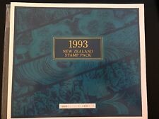 1993 NEW ZEALAND MINT STAMP PACK COLLECTION