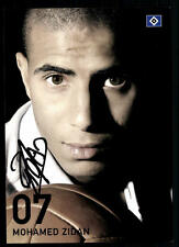 Mohamed Zidane Autogrammkarte Hamburger SV 2007-08 Original Signiert +A 96396