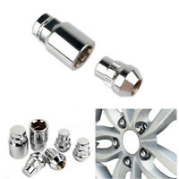 M12x1.5 Alloy Wheel Locking Nuts Tapered For Volvo Security Lug Bolts (4+1)