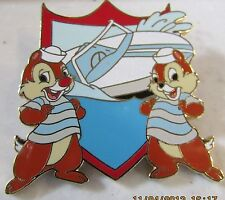 Disney Wdw Gold Card Transportation Vehicles Chip and Dale Artist Proof Ap Pin