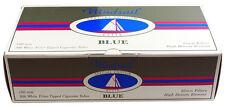 50 (Fifty) Windsail 100mm Elite Blue Rolling Cigarette Tubes 200ct box - RYO/MYO