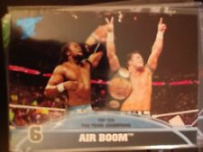 2013 Topps Best of WWE Top Ten Tag Team Champions #6 Air Boom