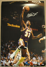 Magic Johnson SIGNED 20x30 Photo Los Angeles Lakers PSA/DNA AUTOGRAPHED