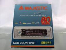 AUTORADIO MAJESTIC SCD205 MP3 80W BLUETHOOT INCORPORATO