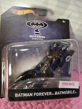 2016 BATMAN FOREVER BATMOBILE ✿black✿1:50 Scale✿Hot Wheels DC Comics