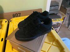 DC Shoes Men's Pure Black/Black Skateboarding Sneakers Shoes 10.5