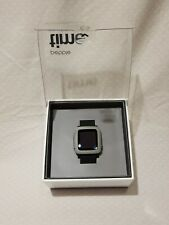 Pebble Time Smartwatch For iPhone or Android * Great Condition * Black Color