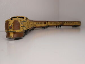 "Lionel ""City of Denver"" Union Pacific  Passenger Set Vintage  O Gauge"