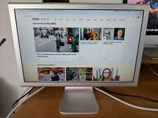 "Apple 20"" Cinema Display - Fully Working - Includes Cables & Power Brick"