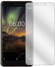 Schutzfolie für Nokia 6 (2018) Display Folie klar Displayschutzfolie