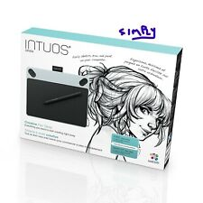 WACOM Pen tablet Intuos Draw Introduction to drawing S white CTL-490/W0
