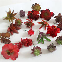 5x Mini Fake Succulents Artificial Cactus Plants for Home Office Garden Decor 3C