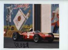 Phil Hill (1927-2008) Ferrari 156 Belgian Grand Prix 1962 Signed Photograph
