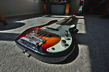 More details for used squire p bass guitar - 5 string