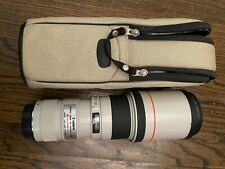 Used: Canon EF 400mm f/5.6 L USM Lens