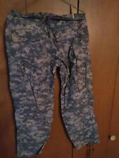 MILITARY ACU, FLAME RESISTANCE, CAMO PANTS, MED- SHORT, NEW WITH THE TAGS.