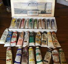 Huge job lot bundle set. Winsor and Newton oil paint tubes.