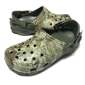 Crocs Classic All-Terrain Clog Camo Comfort Mens Size 13
