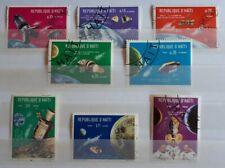 1969 Haiti Full Set Of 8 Stamps - Apollo Space Missions  - PC / MNH