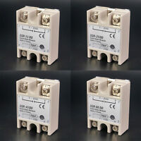 SSR Single-phase Solid State Relay 10-60A DC-DC Input 3-32VDC Load 5-60VDC