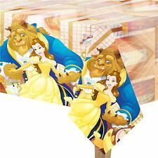Beauty and the Beast Plastic Tablecover Wedding Birthday Table Birthday Party