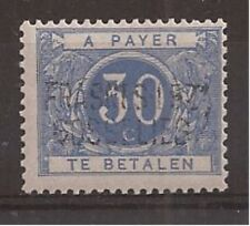 Belgium - Postage Due - 1919 - COB TX7A** - SCOTT 7 - SURCHARGED - MNH -
