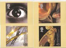 GB CARTOLINE PHQ carte Nuovo di zecca SET 226 Set Completo 2000 SOUND & VISION Pack