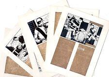 LA CRAVACHE D'OR (DEMAIN) lot de 6 planches de montage originales AREDIT