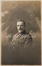 RPC Postcard: WW1 - A Studio Portrait of an Army Service Corps (ASC) Private