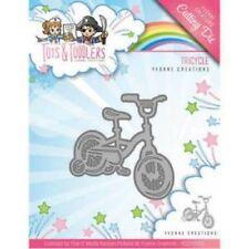 YCD10095 Yvonne creaciones Tots y niños pequeños Corte Die-Triciclo
