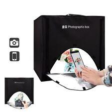 60CM Foldable Cube Studio Light Portable Photography Photo Box Mini LED Kit Tent