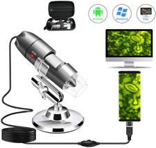 Usb Microscope Camera Digital 40x To 1000x Compatible With Android Mac Microscopio