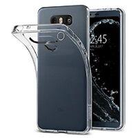 Custodia Cover Back Case Ultra Slim per LG G6 H870 in Silicone Trasparente