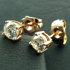 Diamond Stud Rose Gold Filled Fashion Earrings