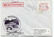 M/S Waterproef Svalbard Longyearbyen Norge Polar Antarctic Cover SIGNED