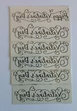 FIVE VALENTINE'S DAY TEMPORARY TATTOOS T195