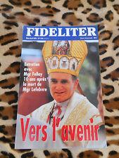 Revue - FIDELITER n° 140, 2001 - Vers l'avenir