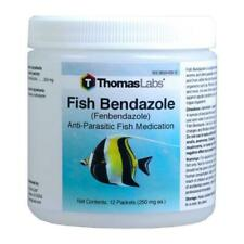 Fish Bendazole 250 mg Fenbendazole 12 Packets - Free Shipping - Limited