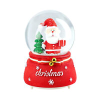 Christmas Musical Snow Globe Santas Gift Christmas Gift Home Table Decor
