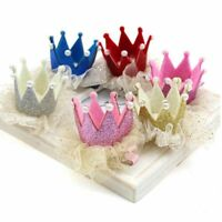 Party Dancing Beautiful Hair Ribbon Crown Children Barrette Princess Hairpins